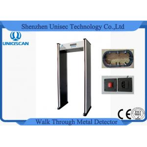 China 12/18 Zone Lightweight Economic Full Body Metal Detector Door Frame 255 Sensitivity on sale
