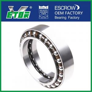 China Gas Turbine Angular Contact Ball Bearing / Radial Thrust Bearings Chrome Steel on sale