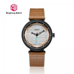 China Creative Design Mens Fashion Watches , Waterproof Large Dial Mens Watches on sale