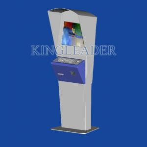 China Waterproof Self-service Outdoor Information Kiosk With Infrared Touchscreen For Advertising on sale