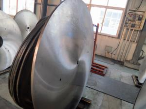 China Hot cutting circular saw disc for processing of beams, billets and steel bars on sale