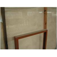 Travertine White And Brown Marble Floor Tile Long Lasting Color