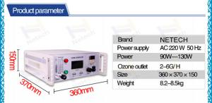 China Medical Commercial Ozone Generator , Desktop ozone therapy machine on sale
