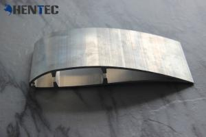 China Extruded Aluminum Industrial Fan Blade Anodizing / Powder Painting Surface on sale