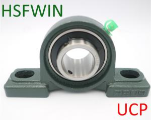 China Oil Grease Lubrication Pillow Block Thrust Bearing 15-90MM Bore Size With Housing on sale