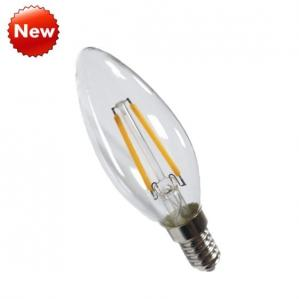 China New Dimming 1.5W Candle 35mm LED Filament Light Bulb on sale