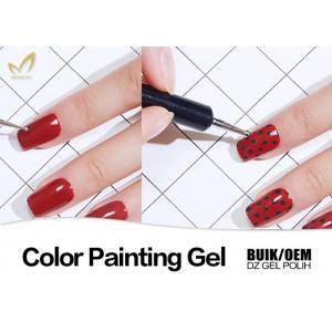 China Unharmful UV Gel Nail Paint Polish For Salon Gorgeous Colors Performance on sale