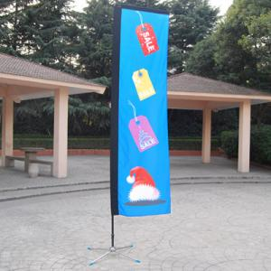 China Mamba Banner flags,Outdoor block flags,straight flags on sale