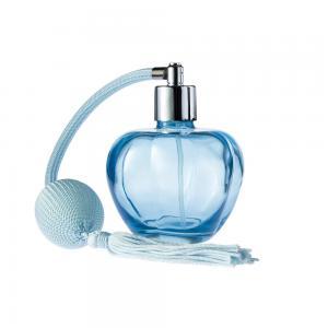 China 100 Ml Perfume Bottle Gradient Bulb Glass Atomizer Spray Bottles Round on sale