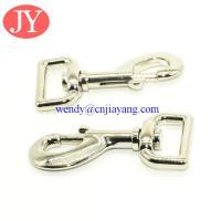 Heavy duty snap hook zinc alloy snap hook one inch snap hook