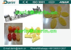 China English Version SUS304 Snack Extruder Machine Continuou Automatic on sale