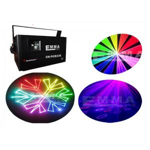 China 1.2W Animation Laser Lights With SD Card / Pub Laser Light Projector For KTV on sale