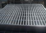 Welded Bar Grating Heavy Duty Steel Grating Banding Untreated Surface