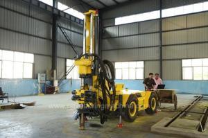 China hydraulic core drilling rig / HQ 160m Crawler Drill Rig / drill rig hire on sale