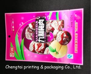 China Plastic Dried Fruit Bags With Tear Notch Dried Fruit Packaging Pouches on sale