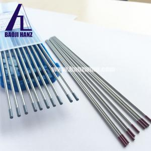 China Dia 3mm 2% throiated tungsten electrode for welding red marked on sale