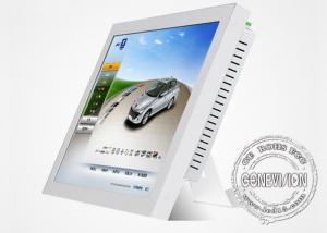 China 17inch High Definition Touch Screen LCD Monitors Wall Mount  With Real Color Panel on sale