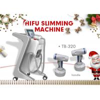 250KHZ HIFU Slimming Machine For Cellulite Reduction / Fat Removal