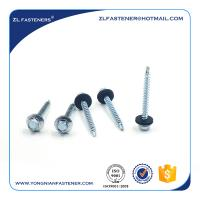 China made Zinc plated  roofing screw DIN7504