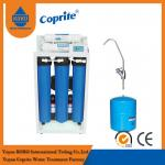200 / 400 GPD Reverse Osmosis Water Filtration System / Triple Water Filter With 11G Steel Tank
