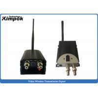 China 5W Analog UAV Video Link 100km LOS FM Wireless Transmitter with BNC Output on sale