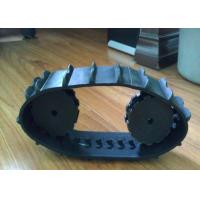 Customize Rubber Track DN-B and  UHMW-PE wheels for Robot/ wheelchairs