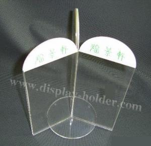 China Three Sides Acrylic Memo Holders on sale