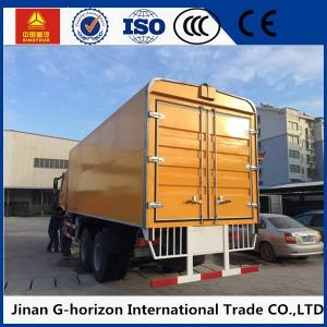 China Sinotruk HOWO Small Cargo Truck 6*4 Drive Left Hand Driving Wingspan Truck on sale