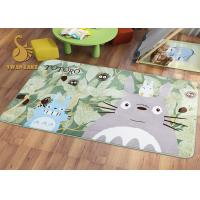 China Short Plush Digital 3D Printed Non Slip Area Rugs For Bedroom / Living Room on sale