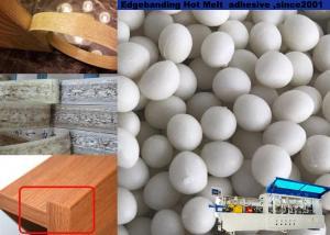 China Yellowish Edgebanding Hot Melt Glue , Edge Banding Glue Pellets Furniture Melamine Board Support on sale