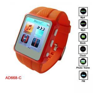 China Promotion WMA, WAV, montre de joueur de MP3 MP4 avec du CE d'enregistrement de MIC, FCC on sale