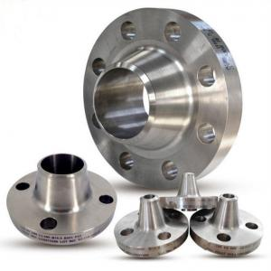 China Machining / Polished Surface Titanium Alloy Fitting / Flange For Chemical Industry on sale