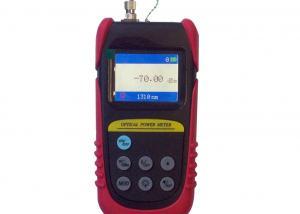 China Battery Powered Power Meter Fiber Optic Test Equipment Self-calibration on sale