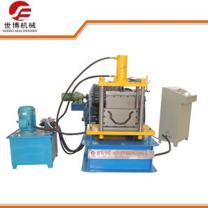 China Waterproof Metal Steel Purlin Roll Forming Machine For Greenhouse CE ISO Listed on sale