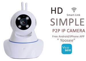 China Indoor TF Card Onvif Wifi IP Camera Infrared Yoosee 2 Way Audio 50° Viewing Angle on sale