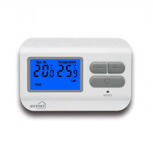 China White Household Air Conditioning Wired Room Thermostat With LCD Display on sale