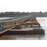 Modular Steel Bridge Military Emergency Pontoon Floating Bridge For Ferry Raft Anchoring Rafts