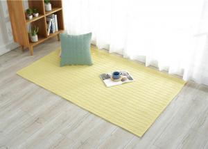 China Hand Made cotton door mats , Study carpet mat for living room Customized on sale