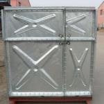 Hot Pressed Galvanized Water Tank/ HDG Water Storage Tank Customized volume