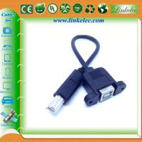 usb panel mount cable usb shielded high speed cable 2.0