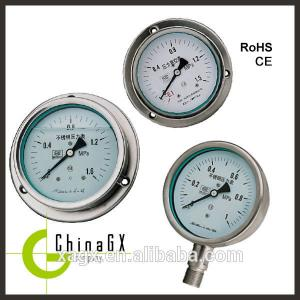 China All stainless Oil filled pressure gauge, Stainless  Pressure Gauge,Hydraulic Oil Pressure on sale