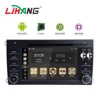 3g Wifi Steering Wheel Control Car Stereo DVD Player , Porsche Android Car Stereo