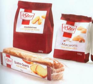 China Recycled Customized Paper Bags Grip Multiple Seal For Bread Packaging on sale