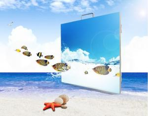 China Commercial P6 Outdoor LED Screen , Super Slim Advertising Led Display Board on sale