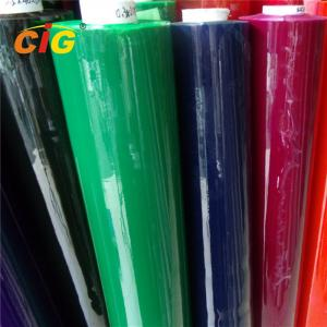 China Colorful Pvc Plastic Sheet Roll / Flexible Pvc Film 0.08mm-0.5mm Thick 120-200cm on sale