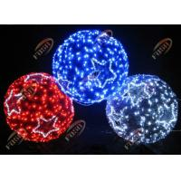 Energy Saving Custom Color Outdoor M&L Globe LED Motif Lamp for Holiday Decorative 3D 220V