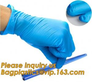 China Protective gloves nitrile/disposable nitrile gloves,3.5g 4.0g 4.5g 5.0g Blue bulks Nitrile Glove/cheap nitrile gloves/di on sale