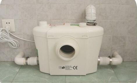 Electromagnetic toilet macerator pump basement toilet pump professional for sale toilet for Basement bathroom with septic tank