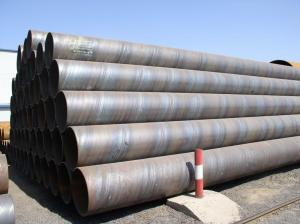 Quality Q235 API5L GrB X65 SSAW Carbon Steel Pipe 100 * 50 * 2.5 For Oil Industry for sale