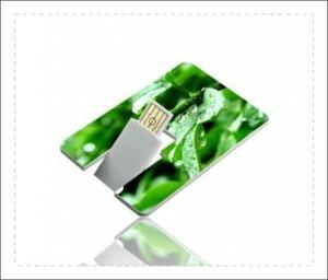 China High Capacity Credit Card USB Stick / Flash Drive That Looks Like A Credit Card on sale